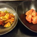茶々 - アボカドキムチ&冷やしトマト