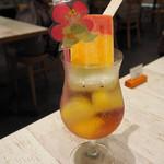 ポケモンカフェ - アローラトロピカルドリンク