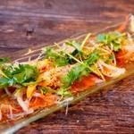 クラフトビアマーケット - 本日の鮮魚のアジアンカルパッチョ・ハーフ