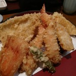 天ぷら ひさご - やっぱり美味しかった。
