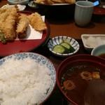 天ぷら ひさご - また天定。。。。次こそは。