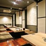 焼肉竹林 別邸 - 掘りごたつ個室は、最大4名の少人数から最大20名の宴会まで対応できます。