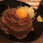 Zaumaimombaruzanikudonnomise - ローストビーフ丼