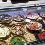 かに食べ放題 蟹奉行 - 鍋用野菜・焼き肉