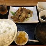 なんやかんや - ♪なんや定食¥750
