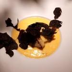 うさぎと亀 - 神内和牛のシャトーブリアン~卵黄のソース,トリュフのせ~