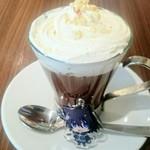 91263540 - 期間限定・アサトのピュアチョコレートドリンク+カフェ限定私物アクキー(ミックスガーデン 池袋)