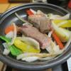 伝承千年の宿 佐勘 - 料理写真:サーロインの陶板焼き