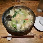 創作中華料理 香町 - 海老塩あんかけ麺