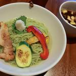 麺屋 翔 - 【期間限定】春つけ麺(900円)