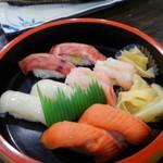 漁師の宿 清宝 - 夕食・寿司