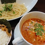 つけ担担麺 市右衛門 - 料理写真:マーラーつけ担々麺