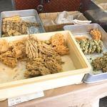 梶野製麺所 - 天ぷら