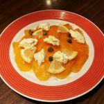 CHEESE SQUARE - スモークサーモンとフレッシュチーズ