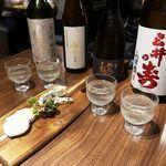 CHEESE SQUARE - きき酒セットはお得!