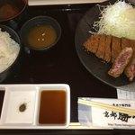牛カツ京都勝牛 - 牛カツ膳(1,490円 税込)の御膳の内容