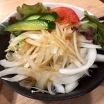 尼崎焼そばセンター - サラダ