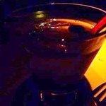 BAR ソロ - ブルーベリーのカクテル・・・飲みやすいですがジュースのようでした。