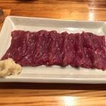 みの家 - 桜肉の刺身