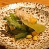 高太郎 - 料理写真:お通し  有機野菜と大豆のおひたし