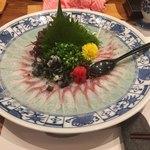 魚料理専門 魚魚一 - 鰻の刺身
