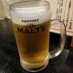 串夢鳥 - ドリンク写真:ビール 420円