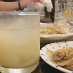 磯笛 - ▲柚子酒ロック