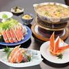 北海道かに将軍 - 料理写真:秋のかにすき祭り「ズワイかにすきコース 秋草」