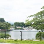 那須の恵みMekke - こっも景色を眺めながらいただきます