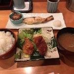 十干 - 今週の焼魚(銀ダラ)ご飯大盛り