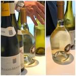 AMOUR - ワインは数本紹介されますので、K様が決められた品に追随。(^^;)