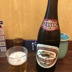 和食 かとう - 瓶ビール 600円