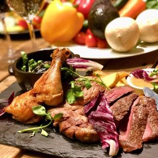 鎌倉野菜や地元幸市場の鮮魚を使用したビストロ&バル♪