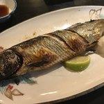 食事処 おおはし - おまかせ焼魚(子持ち鰊)