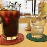 カルガモ コーヒー - かるがもアイス珈琲 480円