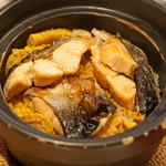 京ダイニング 吟 - トキシラズ鮭と玉蜀黍の炊き込みご飯