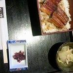めん坊 - 鰻丼定食1050円