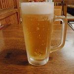 総本家 浪花そば - 生ビール