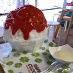 雪みるく - 「夏いちごミルク」750円