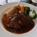 ゆりの木 - リブロインステーキ 和風おろしソース