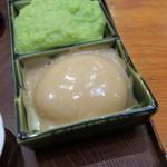 村上屋餅店 - くるみ餅