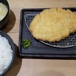 イマカツ 神保町店 - ロースかつ膳(1440円)