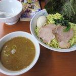 横浜らーめん東名家 - つけ麺(1.5玉)大盛り2018.08.19
