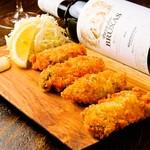 Oyster&Wine stand sekka izumi -