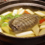 蔓山 - 料理写真:蔓山式すっぽん鍋