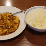 Tenfuen - 麻婆豆腐、夜セット
