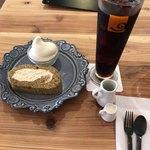 コロロ カフェ - 料理写真:ロールケーキセット