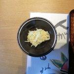 美味心 秀峰 - 「ひょうたん弁当」ジャガイモの酢の物