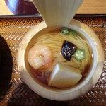 美味心 秀峰 - 「ひょうたん弁当」季節の素麺