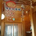 はやし - 天井  甲府はのこようなお飾りが多いです